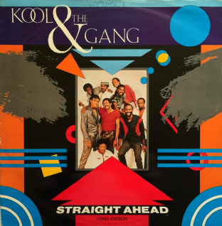 "Kool & The Gang - Straight Ahead (12"") (G-/G-)"